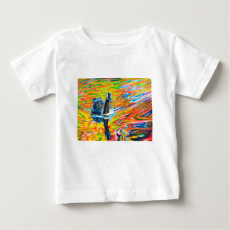 Rainbow Goose Baby T-Shirt