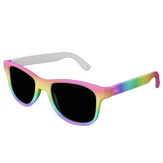 Rainbow Gradient custom monogram sunglasses