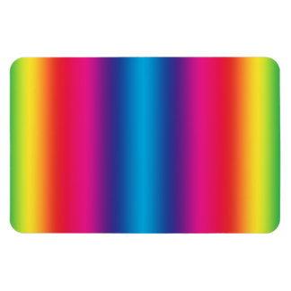 Rainbow Gradient - Customized Rainbows Template Flexible Magnets
