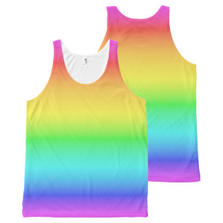 Rainbow Gradient tank top
