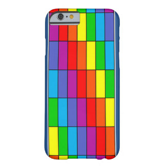 Rainbow Grid iPhone 6 Cover Barely There iPhone 6 Case