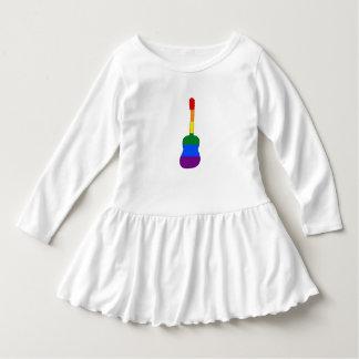 Rainbow Guitar Dress