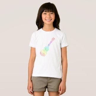 Rainbow Guitar Girls T-Shirt