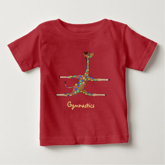 Rainbow Gymnastics by The Happy Juul Company Baby T-Shirt
