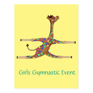 Rainbow Gymnastics by The Happy Juul Company Postcard