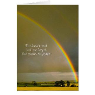 Rainbow Haiku Card
