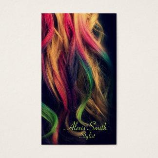Rainbow Hair Stylist Profile Cards