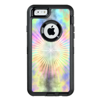 Rainbow Halo Star Burst OtterBox Defender iPhone Case