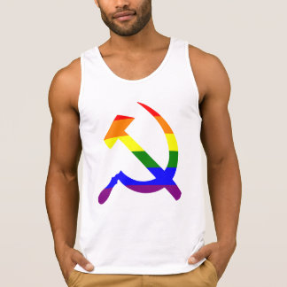 Rainbow Hammer And Sickle Tanktop