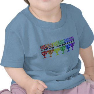 Rainbow Happy Chanukah Infant T-Shirt