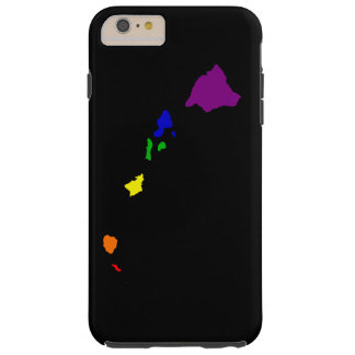 Rainbow Hawaii Tough iPhone 6 Plus Case