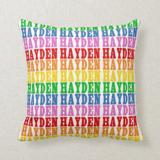 Rainbow Hayden Cushion