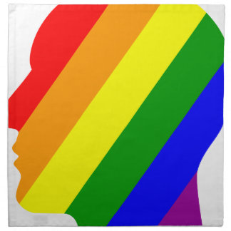 Rainbow Head Napkin
