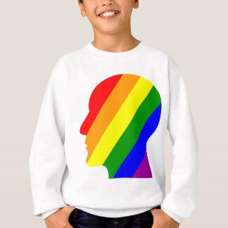 Rainbow Head Sweatshirt