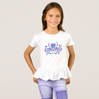 Rainbow Heart and Lily T-Shirt