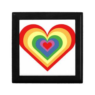 Rainbow Heart Gift Box
