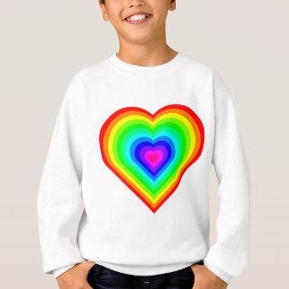 Rainbow Heart Sweatshirt