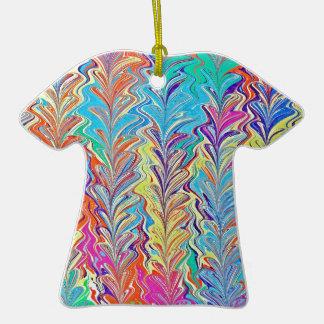 Rainbow Heartfall Ceramic T-Shirt Decoration