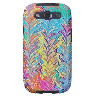 Rainbow Heartfall Samsung Galaxy S3 Cases