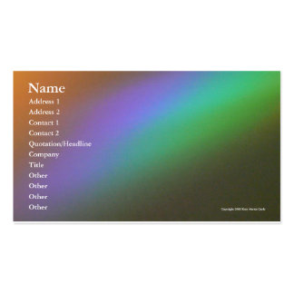 Rainbow Heaven Pack Of Standard Business Cards