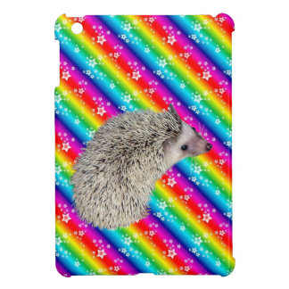 Rainbow Hedgehog iPad Mini case