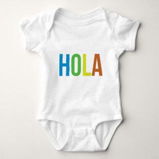 Rainbow Hola Baby Bodysuit