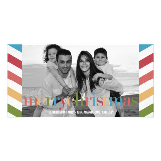 RAINBOW Holiday Photo Card