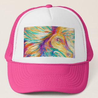 Rainbow Horse Trucker Hat
