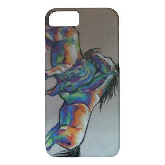 Rainbow Horses iPhone 8/7 Case