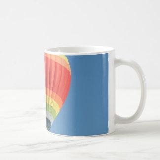 Rainbow Hot air Balloon Coffee Mugs