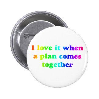 Rainbow I Love It Button