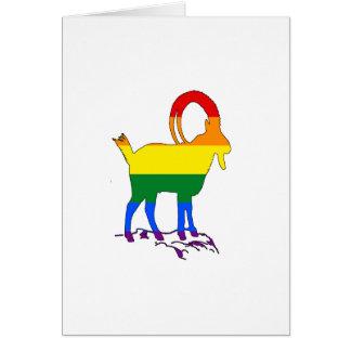 Rainbow Ibex Card