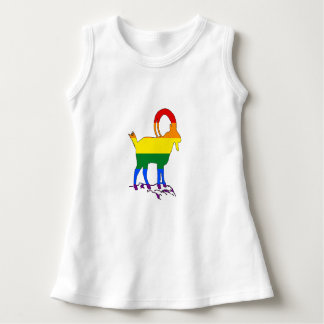Rainbow Ibex Dress