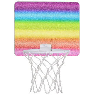 """Rainbow Ices"" Mini Basketball Hoop"