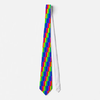 rainbow Illusion Tie