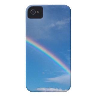 Rainbow in a Blue Sky Case-Mate iPhone 4 Case