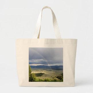Rainbow in Grand Teton National Park Bag