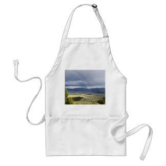 Rainbow in Grand Teton National Park Standard Apron
