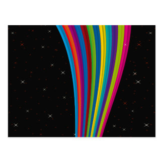 Rainbow In The Dark Postcard