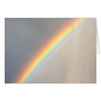 Rainbow in the Rain Greeting Card
