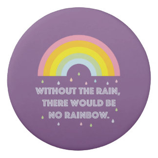 Rainbow Inspirational and Motivational Quote Eraser