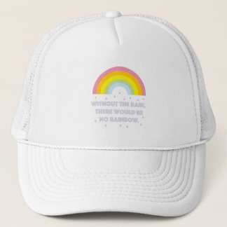 Rainbow Inspirational and Motivational Quote Trucker Hat