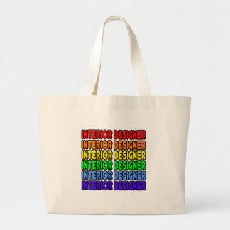 Rainbow Interior Designer Tote Bag
