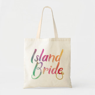 RAINBOW ISLAND BRIDE WITH GOLD RING