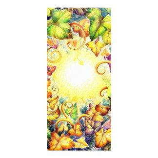 Rainbow Ivy Eye Customized Rack Card