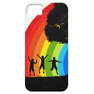 Rainbow Joy iPhone 5 Cases