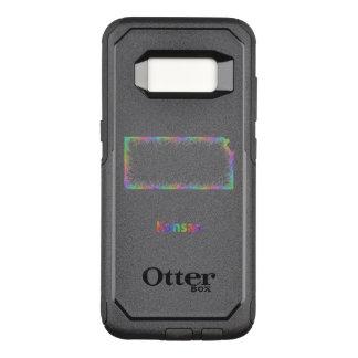 Rainbow Kansas map OtterBox Commuter Samsung Galaxy S8 Case