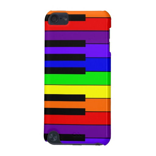 Rainbow Keyboard iPod Touch (5th Generation) Cases