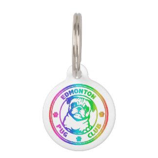 Rainbow Keychain Pet Name Tag