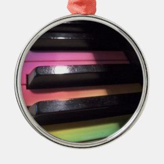 Rainbow Keys Photo Ornaments